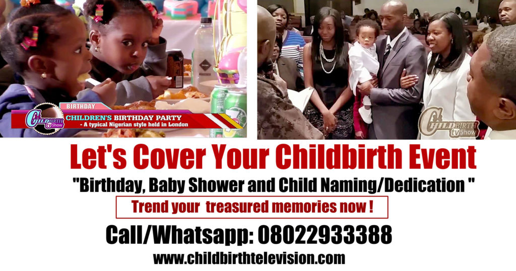 Childbirth Events advert